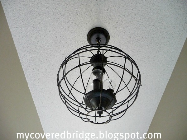 My covered bridge orb chandelier aloadofball Images