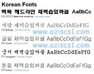 Font Korea dan cara Instalnya Biar Terbuka di Photoshop