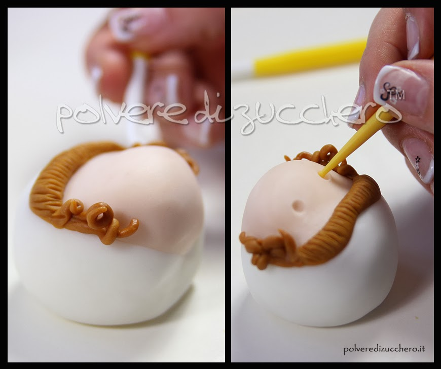 tutorial bimba coniglietta passo a passo polvere di zucchero