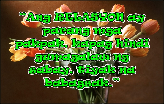 Ending Tagalog Quotes Tagalog Relationship Quotes