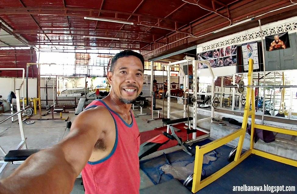 Gym in Luang Prabang Laos