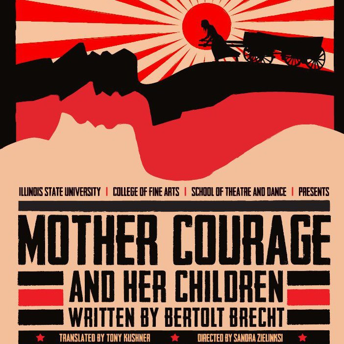 an analysis of tragedy in mother courage and her children a play by bertolt brecht Composition ii bertolt brecht, mother courage and her children mother courage and her children - one act play and mother courage analysis.