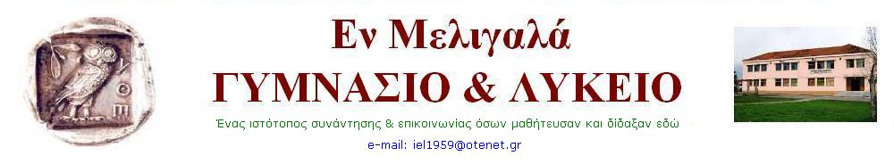 ΓΥΜΝΑΣΙΟ-ΛΥΚΕΙΟ ΜΕΛΙΓΑΛΑ