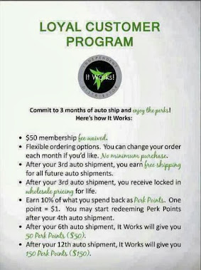 Loyal Customer Program