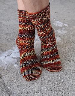 Вяжем носочки вместе с Наташей