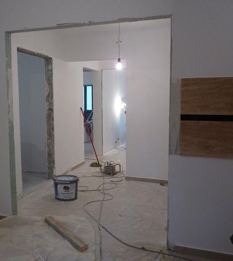 Firme constructii bucuresti amenajari interioare for Proiect casa 2 camere living baie si bucatarie