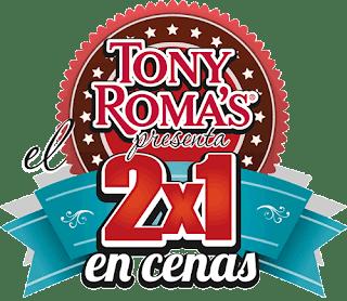 Cenas 2 por 1 Tony Roma´s