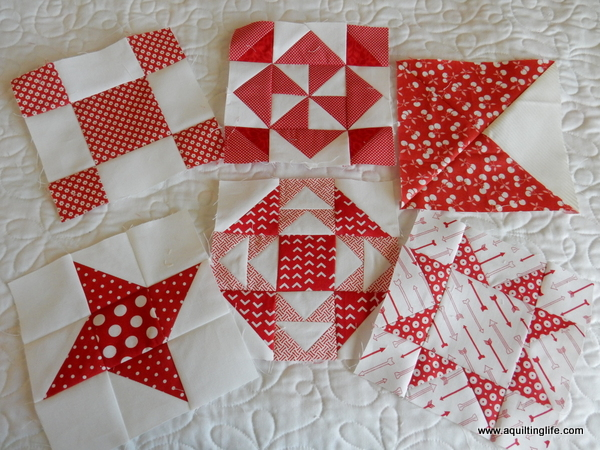 Works in Progress: Red and White Quilt | A Quilting Life - a quilt ... : red and white quilt - Adamdwight.com