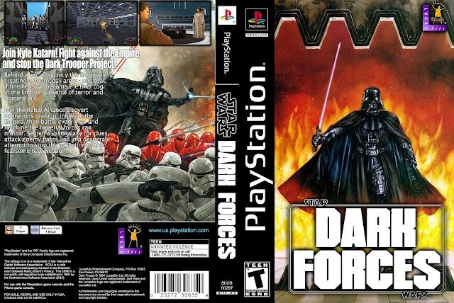 Capa Star Wars Dark Forces Playstation
