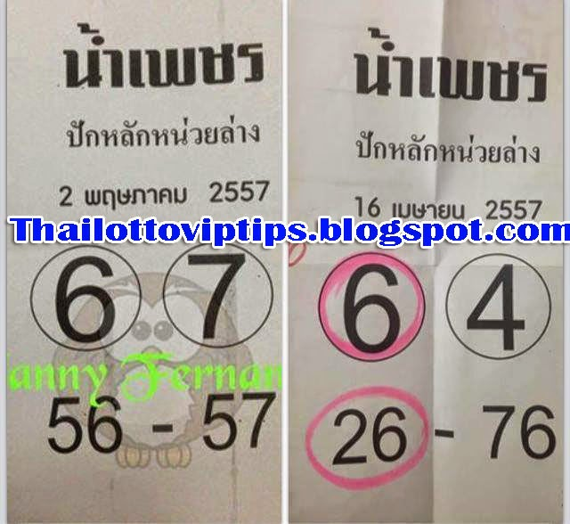 Thai Lotto Down Game 02-05-2014