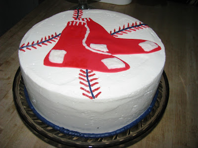 Retro Gran | Boston Red Sox cake