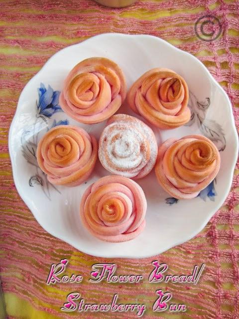 strawberry-bun-eggless