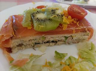 Pastel Frio De Salmon