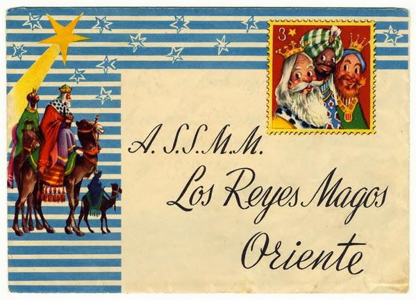 Queridos Reyes Magos de Oriente   El Merkadillo Vintage