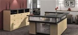 U Shaped Reception Desk