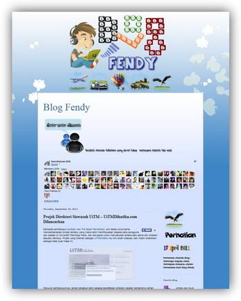 [Blog Baru] Blog Fendy dan Story About Me n My Sweet Chocolate