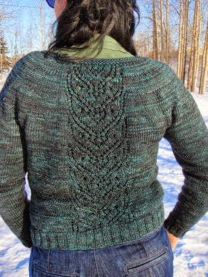 Ginny Cardigan - She Knits in Pearls