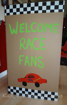 Kids, Clutter and Chaos: Shindigz Race Car Party Review & Giveaway