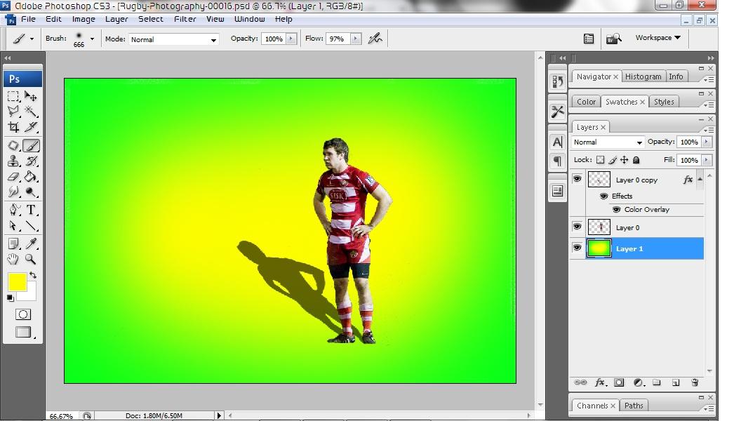 Cara edit foto menjadi ir 15