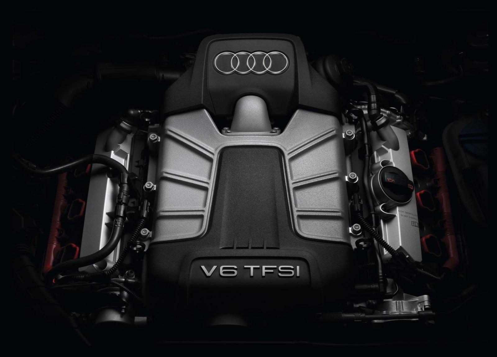 Audi S4 V6 T Engine Wallpaper
