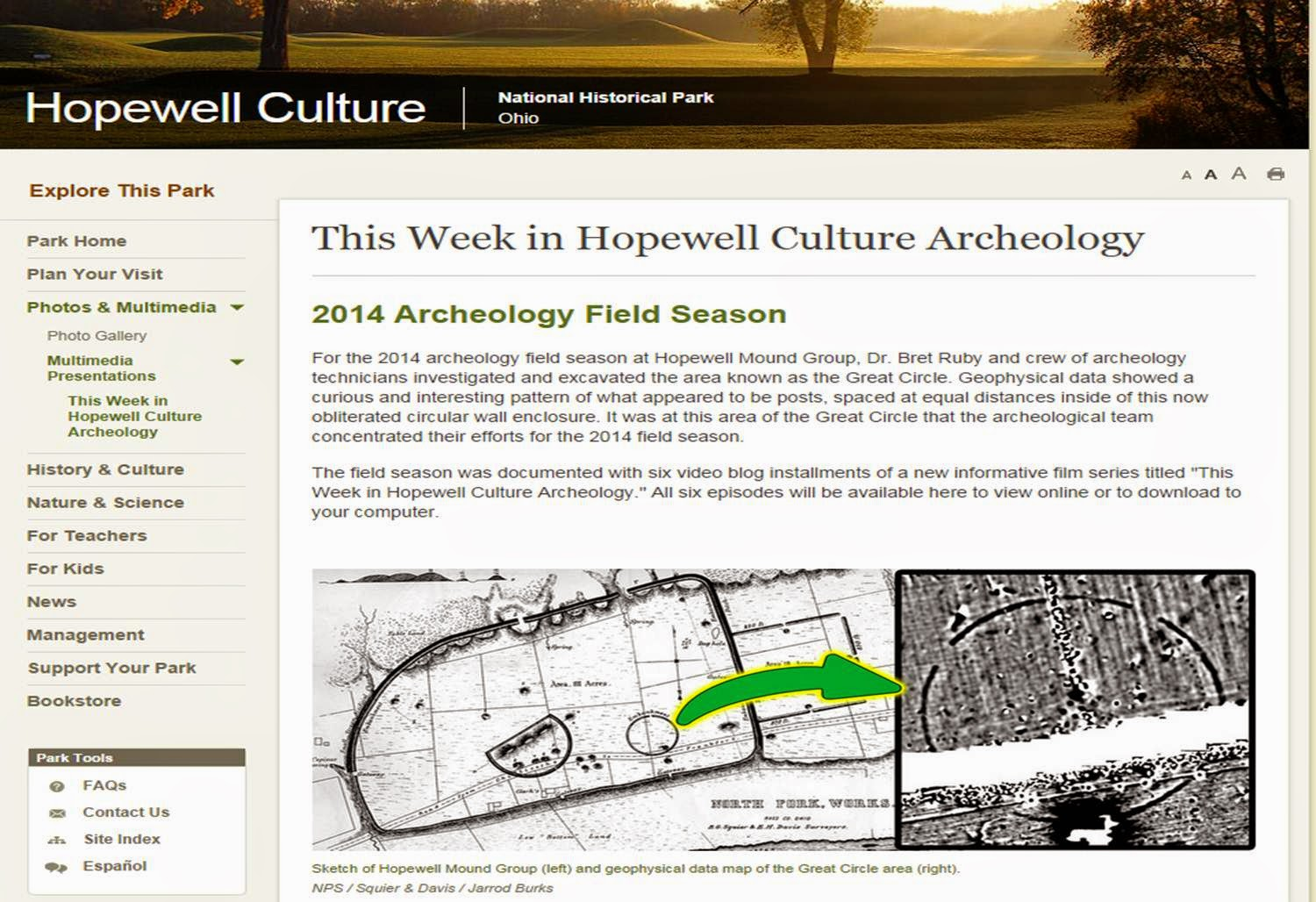 This Week in Hopewell Culture Archaeology
