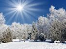 ... и вот сама идет волшебница зима