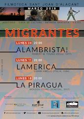 Ciclo ''Migrantes'' · Marzo 2019