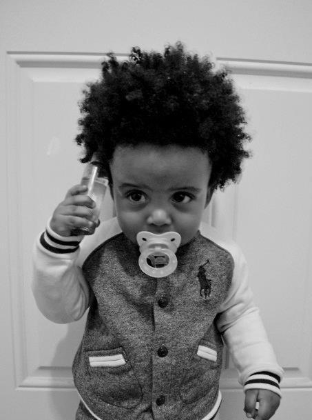 Très Photo bébé avec cheveux bouclés - Bébé et décoration - Chambre  GA81
