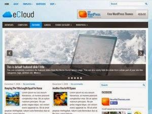 eCloud - Free Wordpress Theme