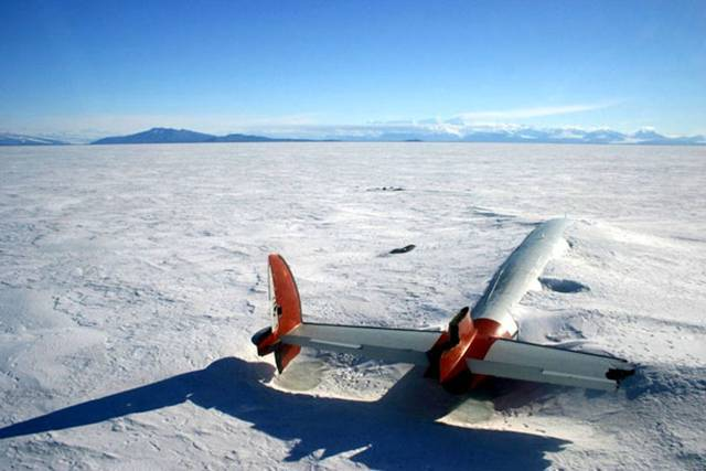 09. The remains of the Pegasus in McMurdo Sound, Antarctica