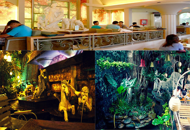Cafe The Myth - Những quán cafe sân vườn đẹp tại Sài Gòn