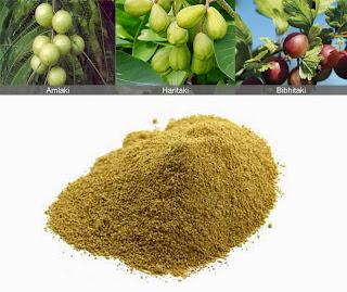 Triphala, polvere medicamentosa di origine naturale