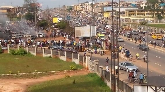 Onitsha Petrol Tanker Accident