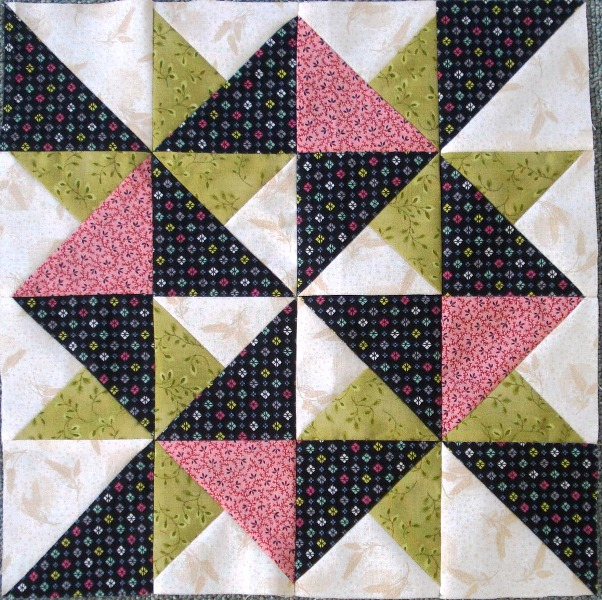 2015 #8 Second Saturday Sampler Block