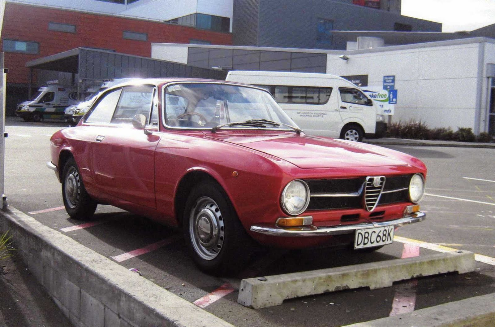 Alfa-Romeo GT 1300 Junior.