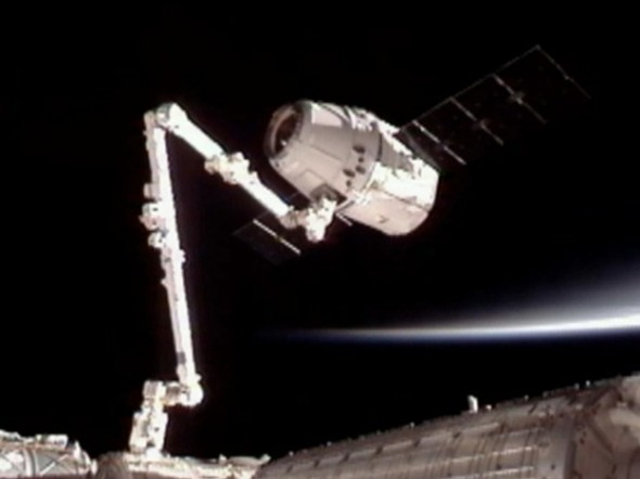 First Unmanned Commercial Space Flight docks with the ISS - 27 Science Fictions That Became Science Facts in 2012