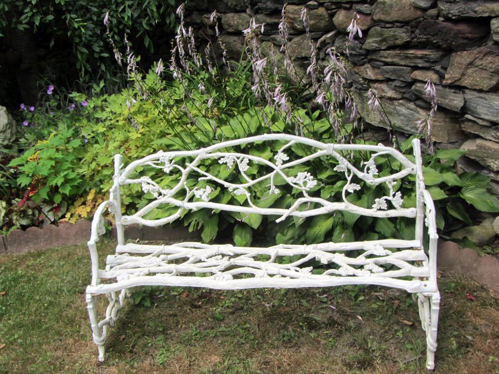 A Rolling Crone: Found Art In the Garden