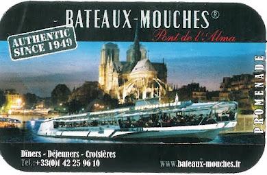 Βόλτα στον Σηκουάνα με τα..... bateaux - mouches: