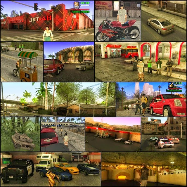 Download Game GTA San Andreas Extreme Indonesia 2015 Full Final Version