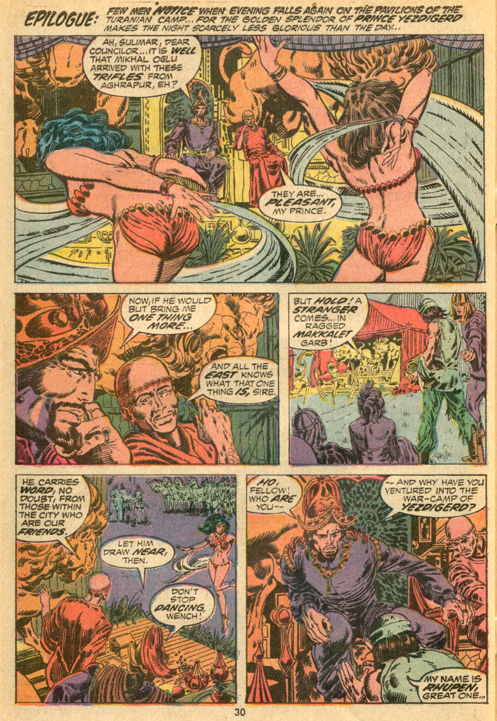 Conan the Barbarian (1970) Issue #23 #35 - English 21