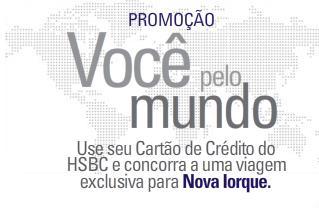 Promoção você pelo mundo HSBC, 10 pacotes de viagens
