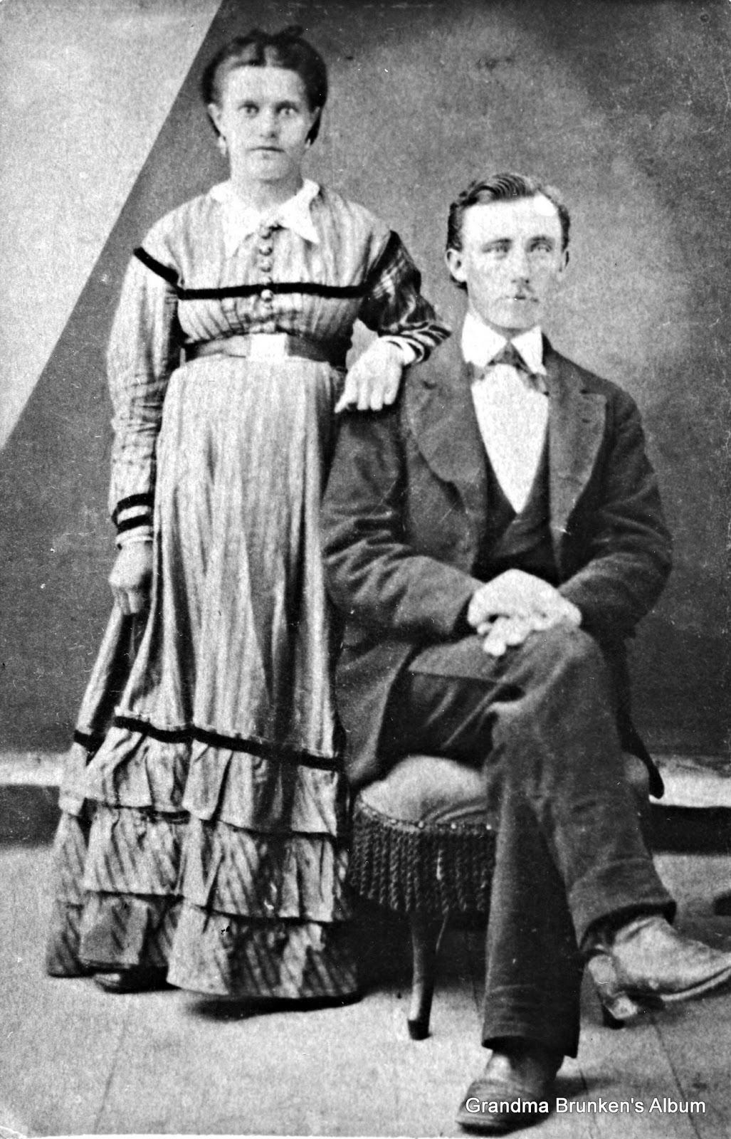 Carsten and Margaretha (Hollman) Petersen