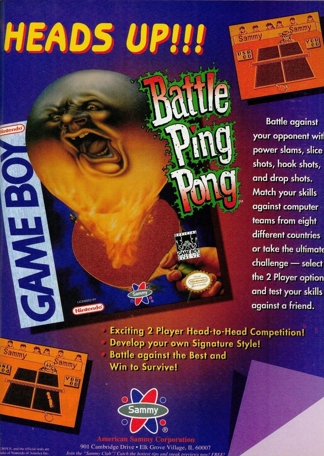"Jeux ""Rare"" sur la Game boy - Page 2 Battle%2BPing%2BPong%2BGameboy%2B001"