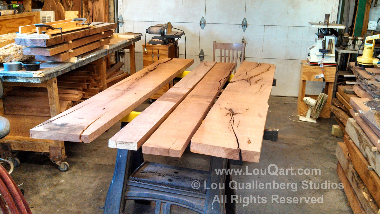 Mesquite to be cut Lou Quallenberg Studios