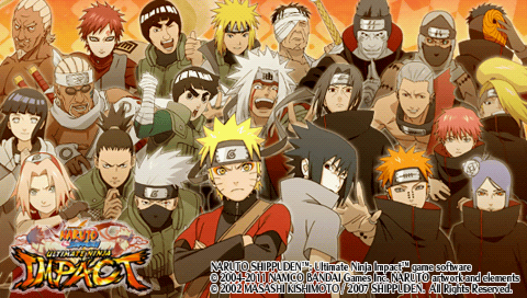 settings naruto ultimate ninja impact ppsspp