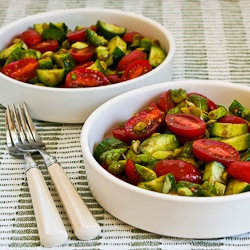 Kitchen®: Not-so-Dumb Salad with Cucumbers, Tomatoes, Onions, Avocado ...