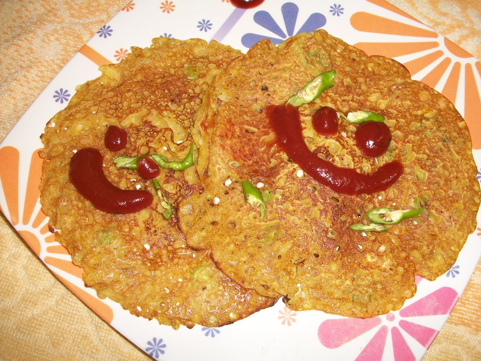 Spice Pan cake Recipe-मसाला पैनकेक