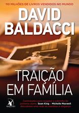 Capa do livro - Traição em família, de David Baldacci