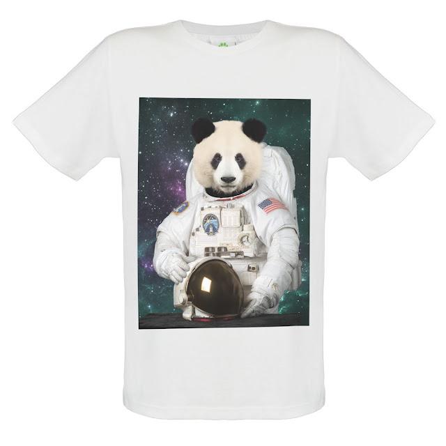 Panda Astronaut