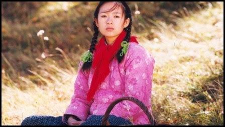 Zhang Ziyi en El camino a casa (Zhang Yimou, 1999)